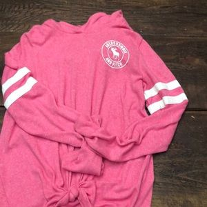 Abercrombie Kids 13/14 Pink Long Sleeved Shirt